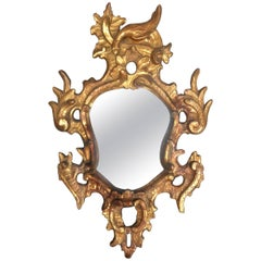 Stunning 18th Century Venetian Rococo Giltwood Mirror