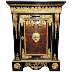 Boulle  Marquetry Cabinet, France 18th Century