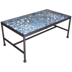 Bronze and Iron Coffee Table