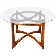 Adrian Pearsall for Craft Associates Round Dining Table