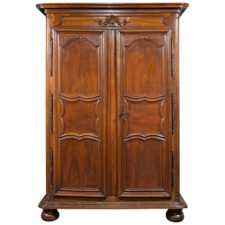 19th Century French Provincial Armoire  For Sale