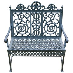 Cast Iron Bench by John McLean