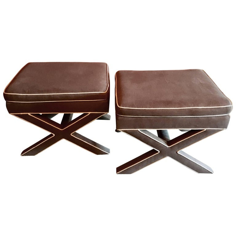 Pair of X Benches