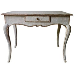 19th Century Louis XV Style Painted Small Table