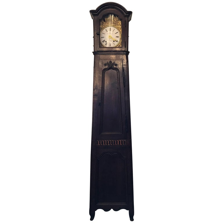19th Century Provincial French Grandfather Clock