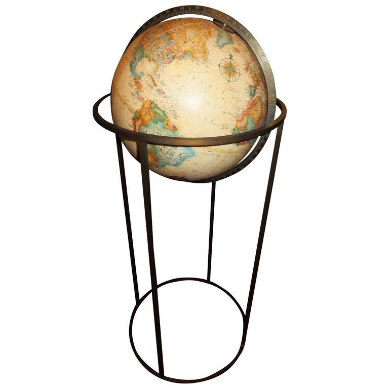 Fabulous Paul Mccobb style Brass Replogle Globe Mid-Century Modern