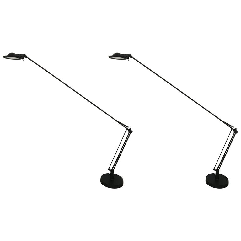 """Pair of """"Berenice"""" Task or Desk Lamps by Paolo Rizzatto & Alberto Meda, LucePlan"""