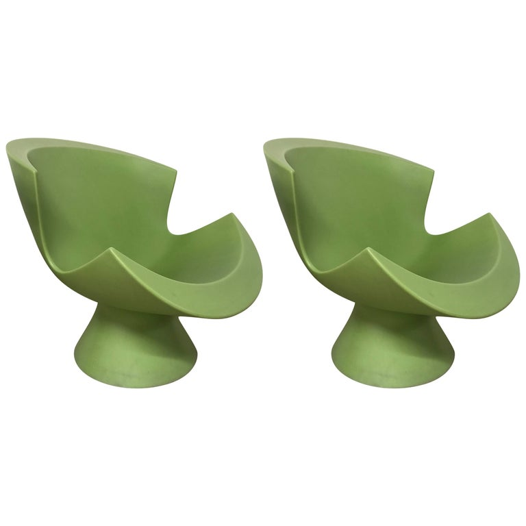 "Pair of Karim Rashid ""Kite"" Chairs for Lābel"