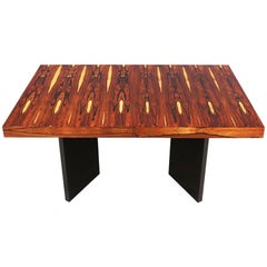 Mid-Century Modern Brazilian Rosewood Dining Table