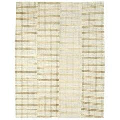 Vintage Turkish Flat-Weave Rug