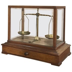 19th Century Jeweler's Balance Scale