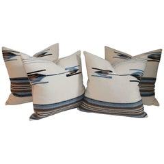Mexican / American Serape Pillows, Pairs