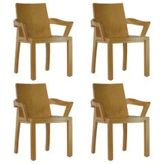 Four Dakota Jackson Arm Chairs