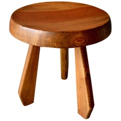 Charlotte Perriand Wooden Stool