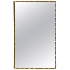 Mastercraft Faux Bamboo Mirror