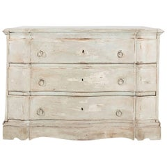 Gustavian Serpentine Chest of Drawers