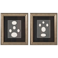 Pair of Framed Intaglios, circa 1960s