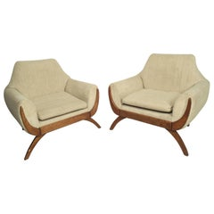 Mid-Century Modern Adrian Pearsall Chairs