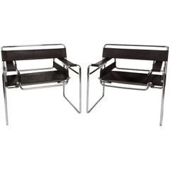 Pair of Vintage Wassily Chairs