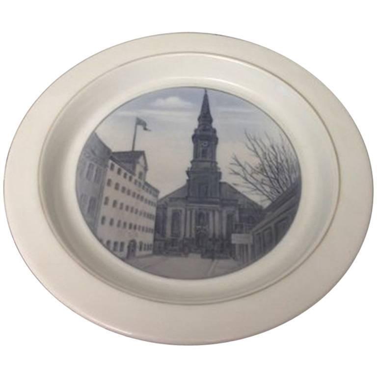 Royal Copenhagen Unique Bowl or Tray by Oluf Jensen