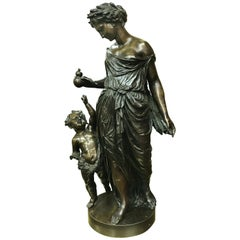 Bronze Figure of Demeter