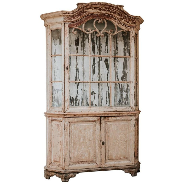18th Century Dutch Painted Cabinet