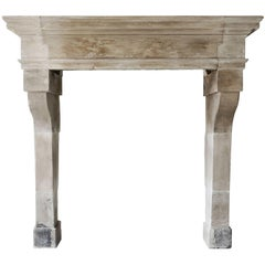 Antique French Fireplace from the Era of Louis XIII