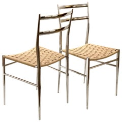"""Pair of Side Chairs by Philippe Starck """"Object Perdu"""" for Driade"""