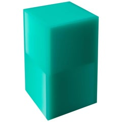 """""""Shifted Cube Box"""", Resin, Wood, 2018, Facture Studio"""