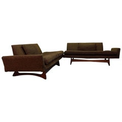 Mid-Century Modern Adrian Pearsall Two-Piece Sectional Sofa