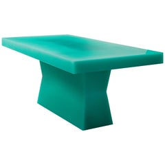 """""""Shift Table w/Pool"""", Resin, Wood, 2018, Facture Studio"""