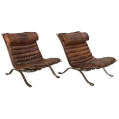 "Pair of Arne Norell ""Ari"" Lounge Chairs"