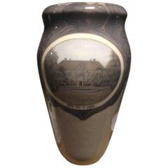 Royal Copenhagen Art Nouveau Unique Art Nouveau Vase by Inger Bugge from 1922