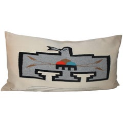 Mexican /American Indian Eagle Bolster Pillow