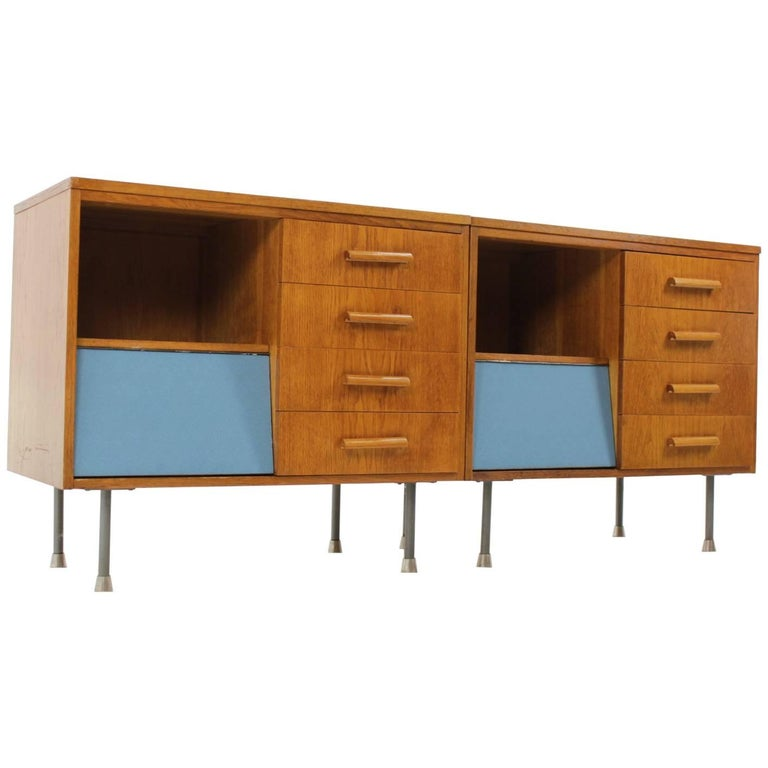 Set of Two Midcentury Sideboard from Czech Republic, 1960s