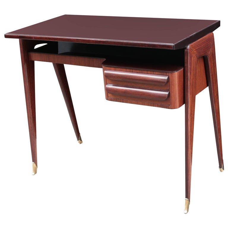 Vittorio Dassi Midcentury Small Writing Desk