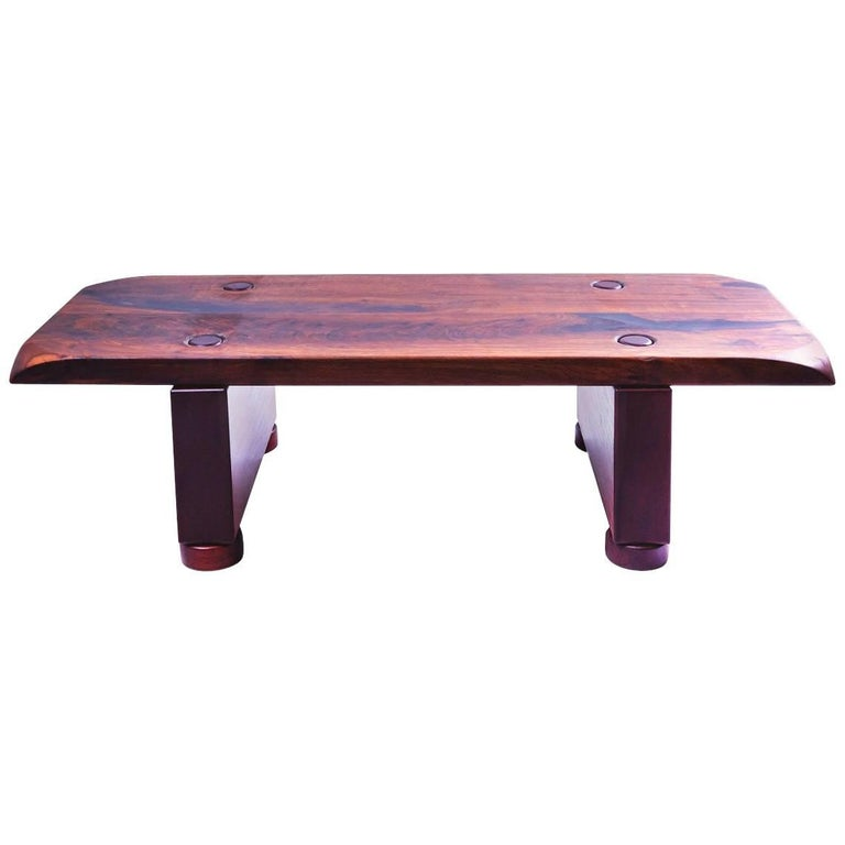 São Xico Double Side Reclaimed Wood Table, woodworking brazilian design
