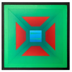 "Francis Tansey "" Red in Green """