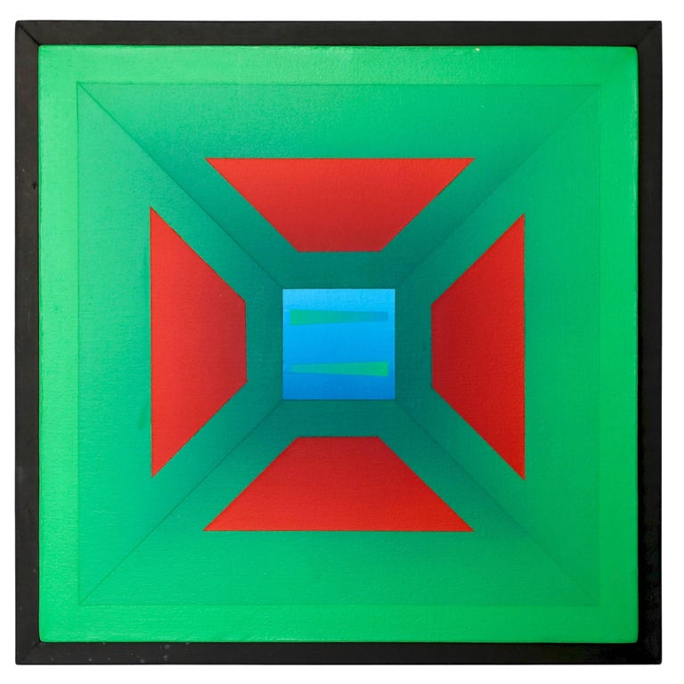 """Francis Tansey """" Red in Green """""""