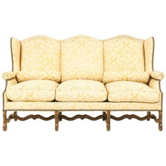 Three-Seat French Settee