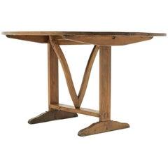Oval 'Tilt-Top' Vintner's Table