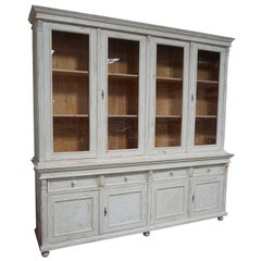 Huge Early 20th Century French Farmhouse Hutch