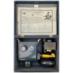 "German ""Magic Lantern"" Complete, in it's Original Box, Never Used, Early 1900s"