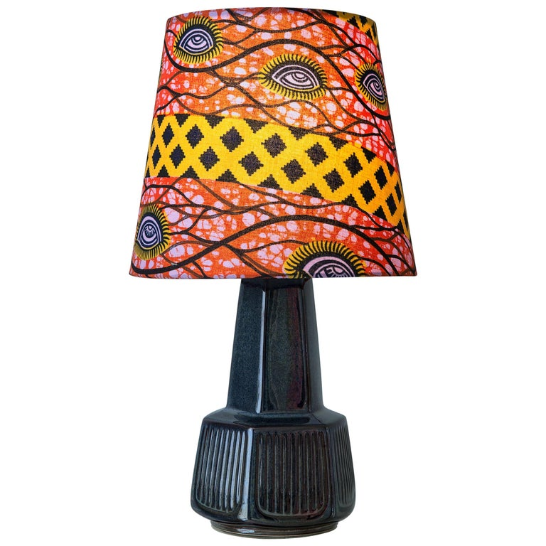 Vintage Ceramic Table Lamp For Sale