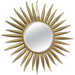Sunburst Mirror, France, circa 1950