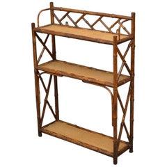 Bamboo Wall Shelves