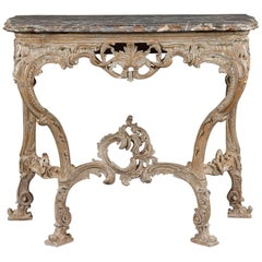 18th Century Giltwood Console Table