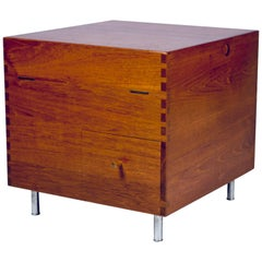 Hans J. Wegner, Minibar, Model No. AT34, circa 1959, Teak