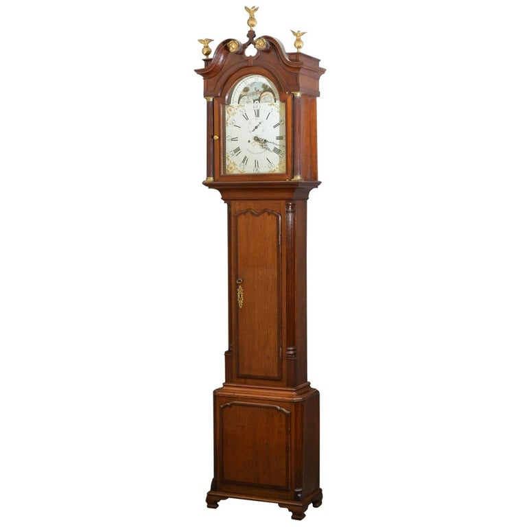 Fine Georgian Longcase Clock J. Joyce