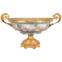19th Century Sevres Style Comport